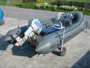 heavy duty m.o.d inflatable boat