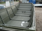 aluminium connectible work boat