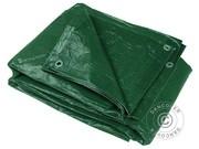 Tarpaulin 6x8 m PE 250 g/m². (3 pcs.) Green