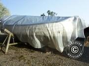 Tarpaulin 5x8 m PE,  200 g/m²,  Transparent
