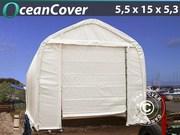 Storage tent 5, 5x15x4, 1x5, 3 m