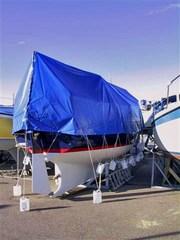 Tarpaulin 6x8 m PVC 570 g. Blue