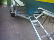 Wanted Galvanized Road / Launch Trailer for 18ft Classic Boat